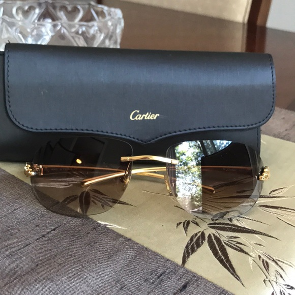 5e7dc545001e Cartier Accessories - Cartier glasses gently used with case